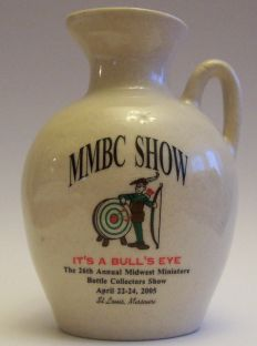 2005 Midwest Miniature Bottle Club Jug – Front side