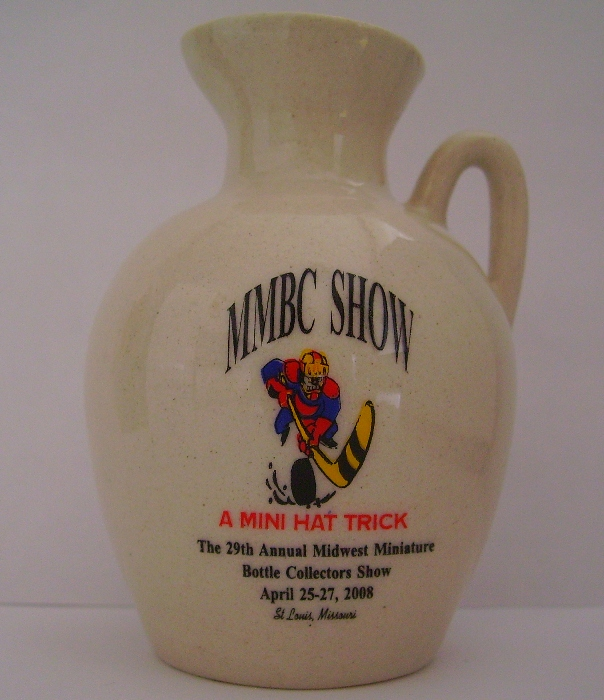 2008 Midwest Miniature Bottle Club Jug
