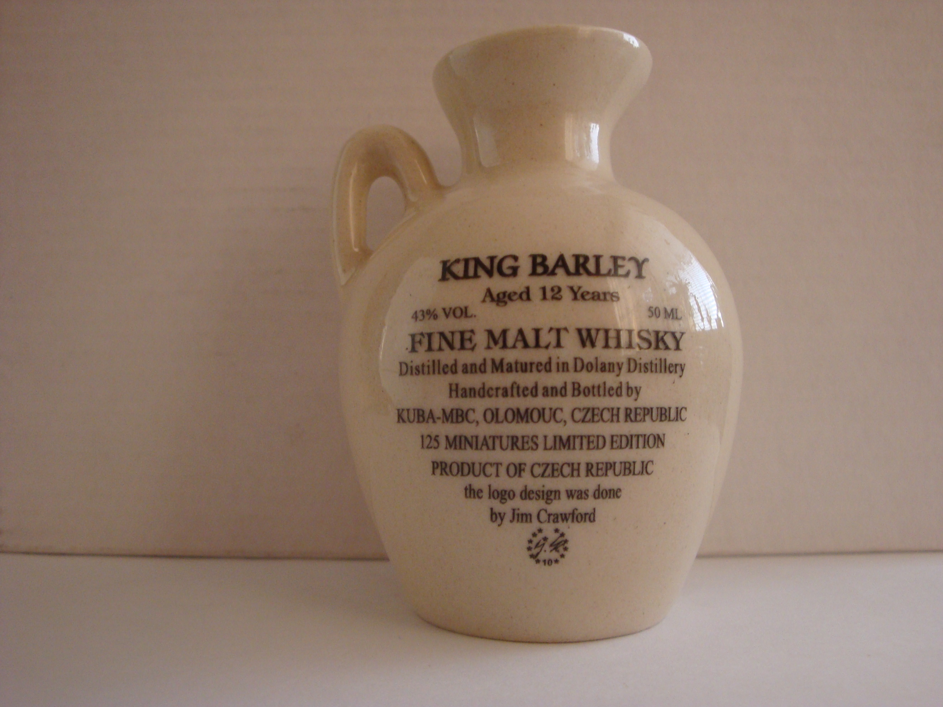 31th Anniversary Midwest Miniature Bottle Club Jug – Back side