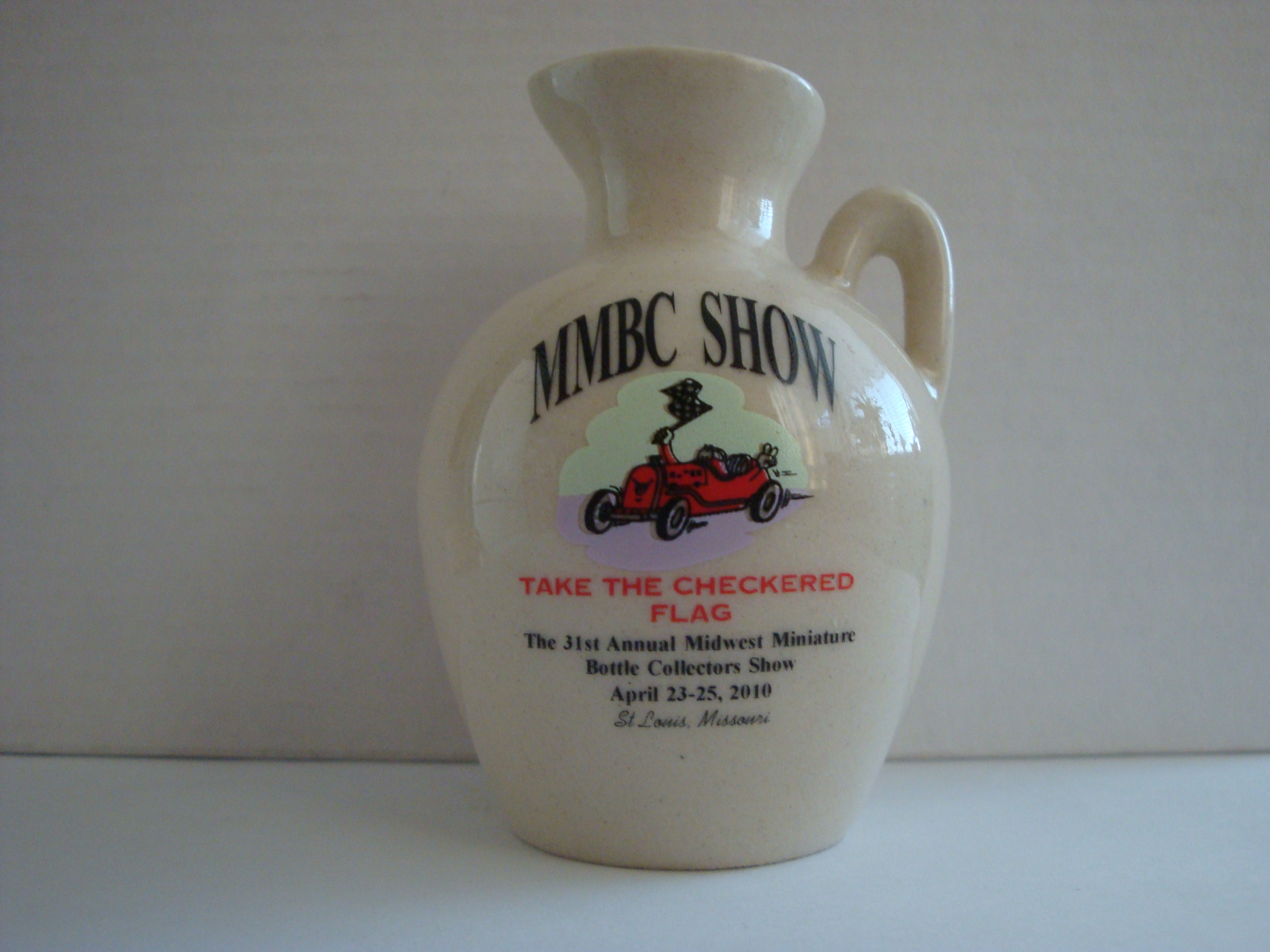 31th Anniversary Midwest Miniature Bottle Club Jug – Front side